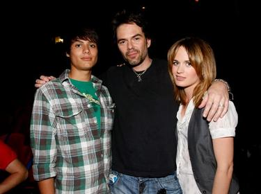 Kiowa Gordon, Billy Burke and Elizabeth Reaser at the Comic-Con 2009.
